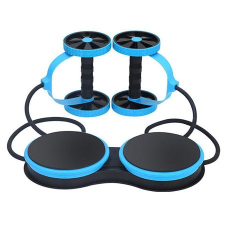 Exercise machine MULTIFUNCTION ABDOMINAL WHEEL  roller + rubbers + base