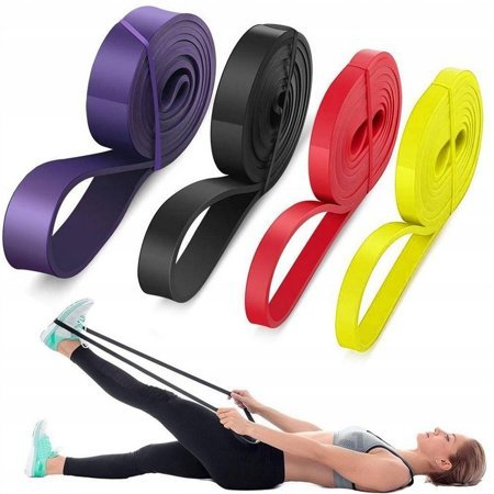 SET OF BANDS FOR EXERCISE RESISTANCE BANDS POWER BAND